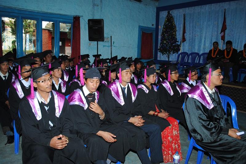 New graduates from HBTC, Kathmandu