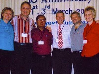 Pastor Dam Suan Mung and family