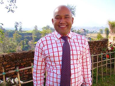 Pastor Raju Sundas and family